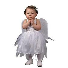 NEW white ANGEL Infant Baby Fairy 12 18 24 mos wings Toddler Dress Up Costume