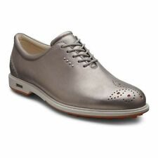 ECCO Womens Classic Hybrid Moon Rock Waterproof Leather Golf Shoes