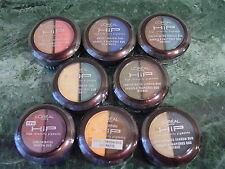 New L'Oreal HiP High Intensity Pigments Shadow Duo - Choose Your Shade