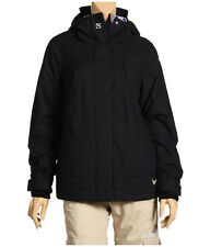 Roxy Trolley Jacket Womens Snowboard Ski Waterproof Insulated Coat Black XS S