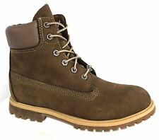 Timberland 6 Inch Womens Leather Suede Boots (23619 U49)