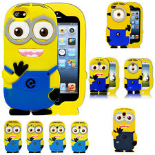 Despicable Me Minion Soft Silicone Gel Case Cover For Xperia Samsung Apple Phone