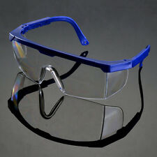 Safety Lab Dental Goggle Glasses UV Protective Eye Impact Curing Clear Lens L
