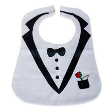 Cute Dress Style Toddler Baby Bib Cotton and Waterproof Feeding Bib