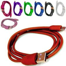 COLOURED USB CHARGING/SYNC CHARGER CABLE LEAD FOR MOTOROLA MOTO E-XT1021