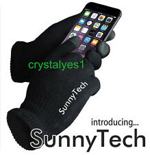 Unisex Touch Screen Knit Glove Hand Warm for iPhone smartphone one-size D