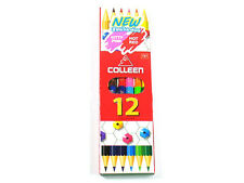 COLLEEN Neon Color Pencil Set 12 24 36 48 60 Colored Hexagonal HQ Best pencils