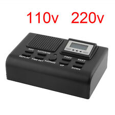 Telephone Call Recording Registration SD Card Voice Recorder Digital LCD Box