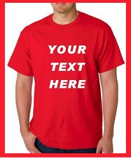 BUY your Custom Personalized T Shirts -print your TEXT, camisetas