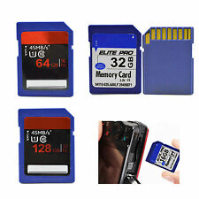 2X 32G 64GB 128GB Class 10 Standard SD SDHC Memory Card For Cameras Camcorders