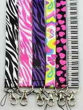 Lot mixed Zebra Love Neck Straps Lanyards For Mobile Phone,Card,Key chain A052