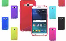 S-Line Wave TPU Soft Silicone Gel Grip Back Case Cover For Samsung Galaxy A5 UK