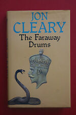 *1ST ED.* THE FARAWAY DRUMS by Jon Cleary - Collins (HC/DJ, 1981)