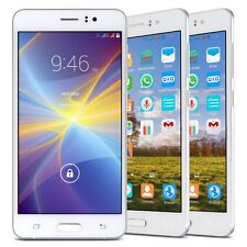"""5.5"""" Unlocked Dual Core 5MP GPS Dual Sim Android 4.4 Smartphone 3G Cell Phone"""