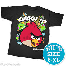 Angry Birds Youth Kids T Shirt