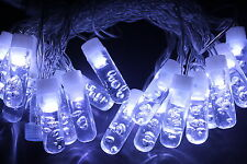 20 LED Icicle Christmas light, Fairy String Light, Party Light Holiday