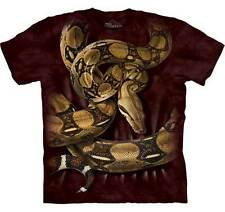 The Mountain Boa Constrictor Snake Brown Men's T-Shirt S,M,L,XL,2XL,3XL