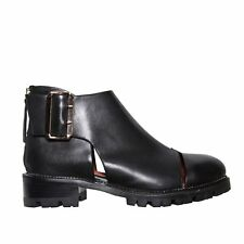 Jeffrey Campbell Flamel Boots in Black