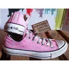 Shoes Converse All Star OX Canvas LTD 1C362 man Women pink Vegan Old Effect