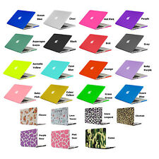 Rubberized PC Case Shell For Macbook Pro 13 Air 13 Pro 15 Retina +Keyboard Cover
