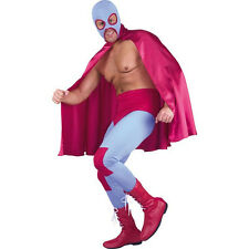 Adult Mexican Wrestler Lucha Libre Costume