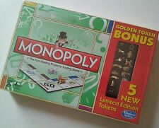 Monopoly Golden Token Bonus Game Limited Edition New