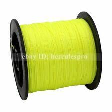 Hercules Fluorescent Yellow/Green Spectra PE Dyneema 10-100LB Braid Fishing Line