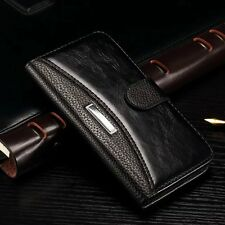 Luxury Leather Magnetic Flip Card Holder Wallet Case Cover Pouch For Lenovo S850
