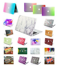 Macbook Air 13 Pro Retina 13 Hard Case Print Frosted-White Marble Pattern Cover