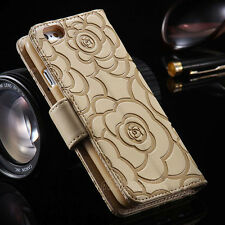 Magnetic Wallet Leather Case Card Slot Flip Stand Holder Cover For iPhone 6 6S