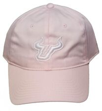 New! University of South Florida Bulls Adjustable Buckle Back 3D Embroidered Cap
