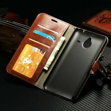 Luxury Leather Flip Card Wallet Stand Case Cover Pouch For Nokia Lumia 640/640XL