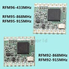 433MHz 868MHz 915MHz LoRa TM Wireless Transceiver Module FSK RFM95/RFM96 lot