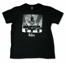 """THE BEATLES """"SULLIVAN SHOW"""" BLACK T-SHIRT NEW OFFICIAL ADULT FAB FOUR BAND"""