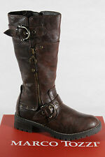 Marco Tozzi Boots, Winter boots, brown, padded RV SP. NEU