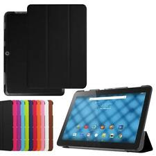"""Tri-Fold Slim Leather Case Cover for 10.1"""" Acer Iconia One 10 B3-A10 Tablet PC"""