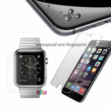 Tempered Glass Screen Film Protector for Apple Watch 38/42 iPhone 5 6 6S Plus UK