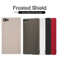 Nillkin Frosted Matte Hard Back Cover Case + LCD Film For Sony Xperia Z5 Compact
