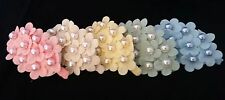 NEW Vintage Inspired Hair Clips Barettes Flowers Pearls Sweet Pastel