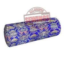 br-625 Twins Fish Chinese Poly-Silk Brocade Neck Roll/ Bolster Cover Custom