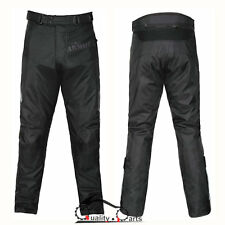 GMAC Pilot Motorcycle Waterproof Trousers CE Armoured Motorbike Textile Pants
