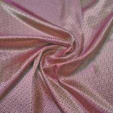 premium 240 yards br-633 gold & red plum maze brocade silk tapestry fabric