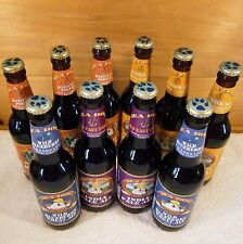SEA DOG Brewing Co EMPTY 12 oz Beer Maine Brewed Ale BROWN GLASS BOTTLE with CAP
