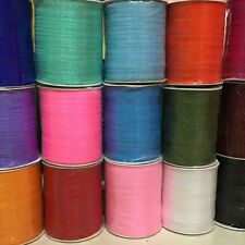 "29Colors Upick 1Roll(1000Y) 3MM 1/8"" Mix Color Organza Ribbon Craft Wedding R552"