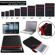 Universal Soft Sleeve Protective Case Cover Bag for Laptop Tablet Notebook Pad