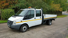 2010 60 FORD TRANSIT 115 6 SEATER CREWCAB DROPSIDE