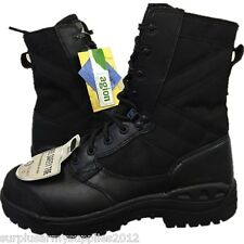 NEW BRITISH ARMY MAGNUM BOOTS STEEL TOE CAP SAFETY AMBULANCE POLICE SECURITY