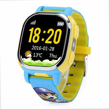 Tencent QQ Children Smart Phone Watch GPS+LBS Tracker GSM Waterproof for iOS And