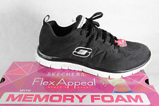 Skechers Women's Sport Shoes Lace up Trainers Sneakers Low shoe NEW