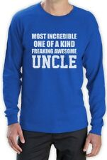 Most Incredible One Of A Kind Freakin Awesome UNCLE Long Sleeve T-Shirt Gift